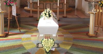 Tre veckor från dödsfall till begravning