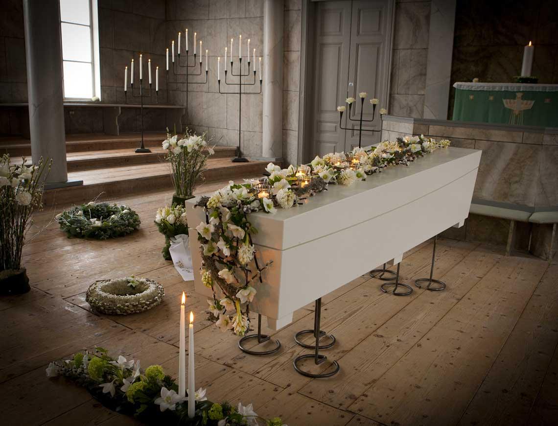 hur länge varar en begravning
